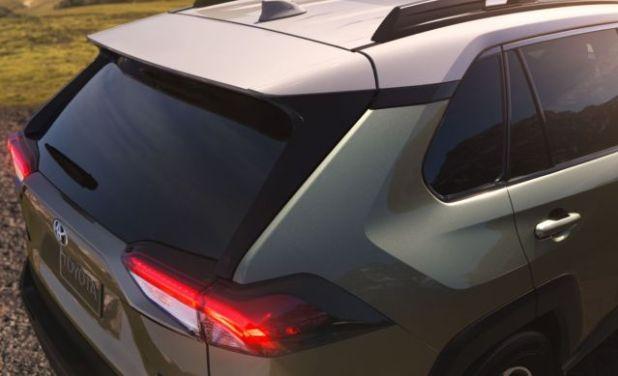 2019 Toyota RAV4 Hybrid rear
