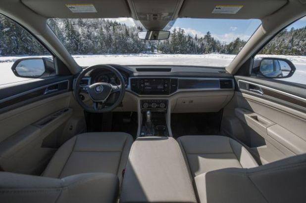 2019 Volkswagen Atlas interior