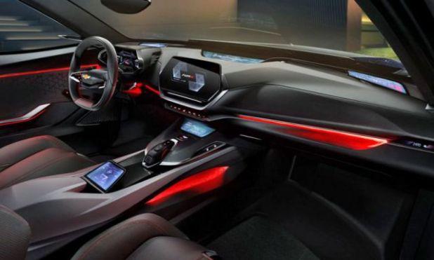 Chevrolet FNR-X interior