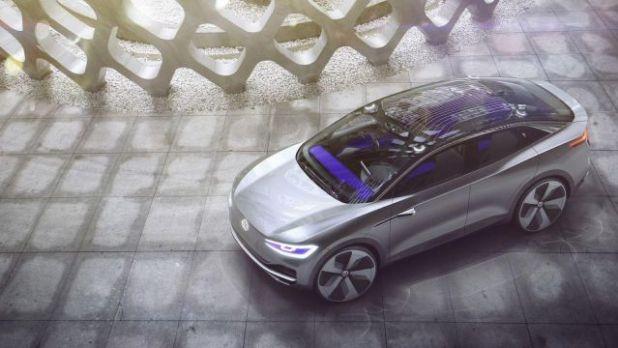 Volkswagen ID Crozz air view