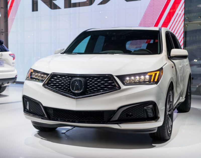 2019 Acura MDX has been unveiled with a revised fascia - 2019 and 2020 New SUV Models