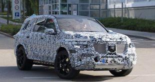 2019 Mercedes-Benz GLS front