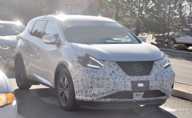 2019 Nissan Murano front