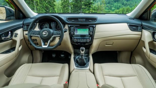 2019 Nissan X-Trail interior