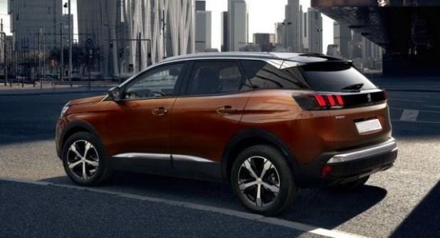 2019 Peugeot 3008 side