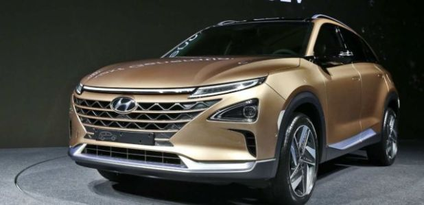 2019 Hyundai Tucson Fuel Cell front