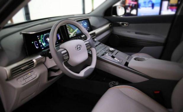 2019 Hyundai Tucson Fuel Cell interior