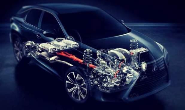 2019 Lexus RX 450h engine