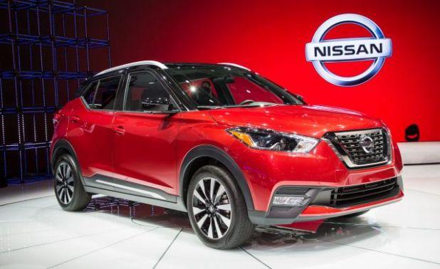 2019 Nissan Kicks front