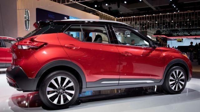 2019 Nissan Kicks side - 2019 and 2020 New SUV Models