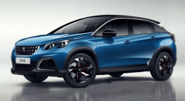 2019 Peugeot 2008 side