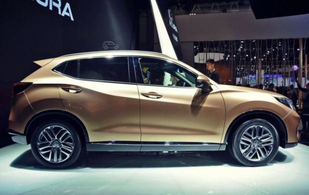 2019 Acura CDX side