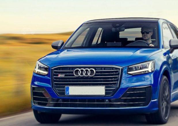2019 Audi SQ2 front