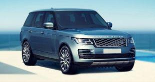2019 Range Rover Vogue front