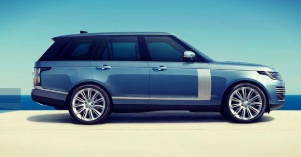 2019 Range Rover Vogue side