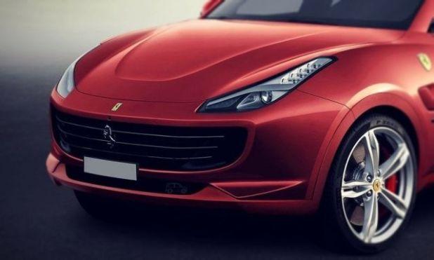 2020 Ferrari SUV front look