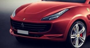 2020 Ferrari SUV front