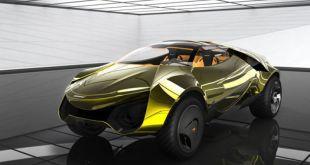 2020 Mclaren SUV front