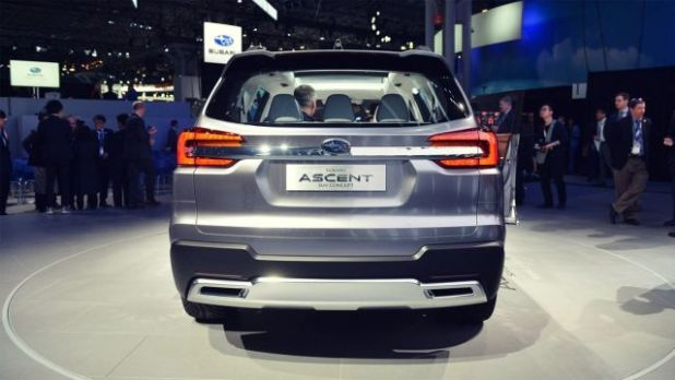 2019 Subaru Tribeca rear