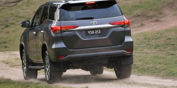 2020 Toyota 4Runner rear view