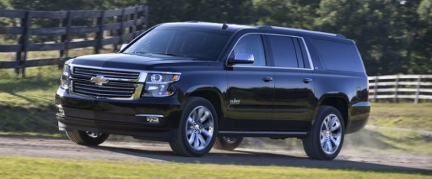 2020 Chevrolet Suburban front view