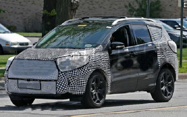 2020 Ford Escape Spy Shots 2019 And 2020 New Suv Models