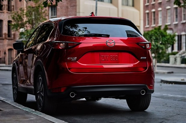 2020 Mazda CX-5 rear view