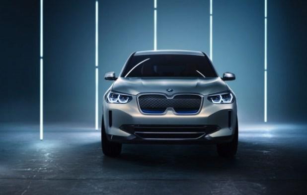 2019 BMW iX3 front view
