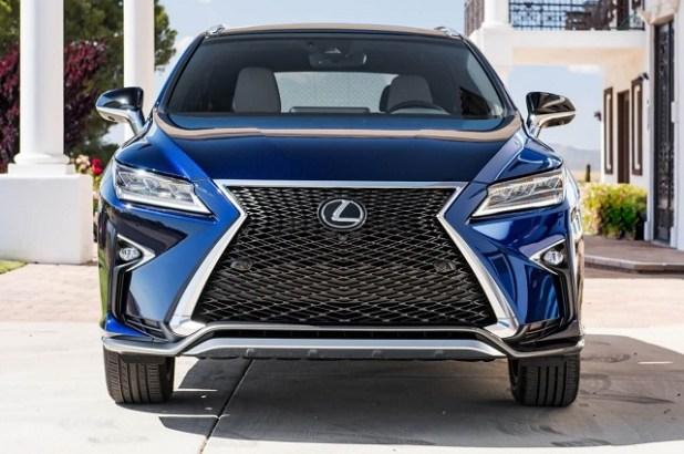 2020 Lexus RX 350 front view