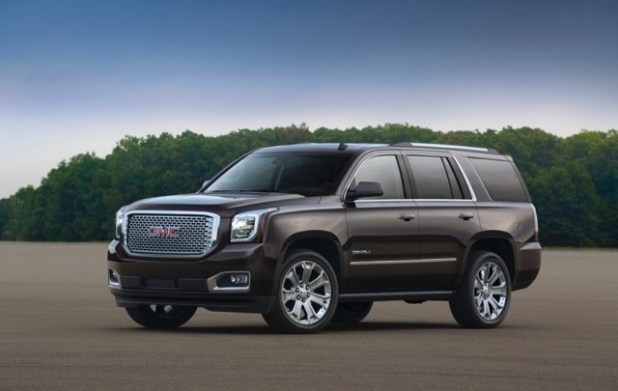 2020 gmc yukon side view
