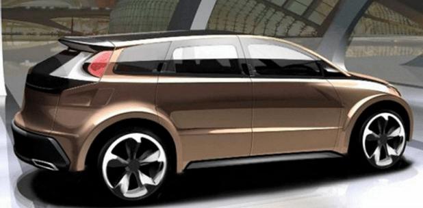 2019 Toyota Venza rear view