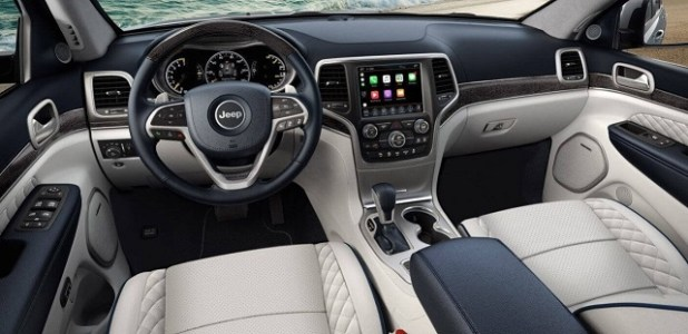 2020 Jeep Grand Wagoneer Interior