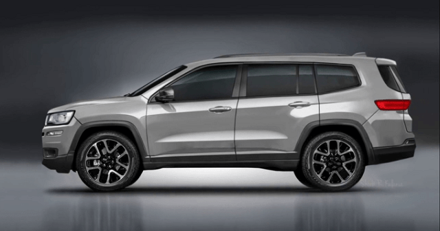 2020 jeep grand wagoneer side view  2020 2021 and 2022