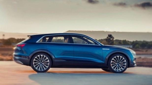 2020 Audi Q6 side view