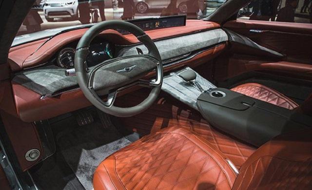 2020 Genesis GV80 SUV interior - 2019 and 2020 New SUV Models