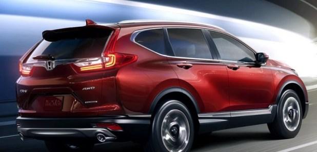 2020 Honda CR-V rear view