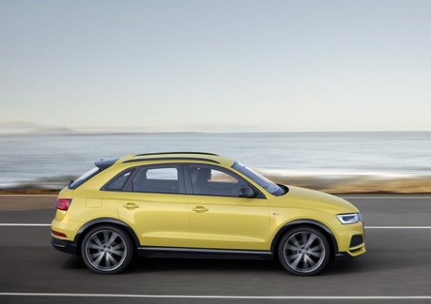 2020 Audi Q3 Hybrid side view