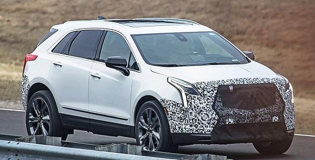 2020 Cadillac XT5 spy shots - 2020, 2021 and 2022 New SUV ...
