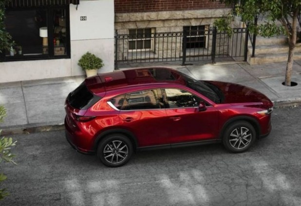2020 Mazda CX-5 Turbo top view