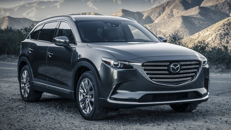 2020 Mazda CX-9 Facelift, Touring