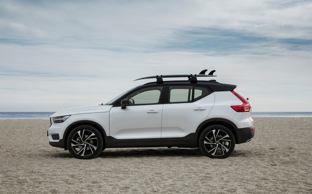 2020 Volvo Xc40 Side View 2019 And 2020 New Suv Models