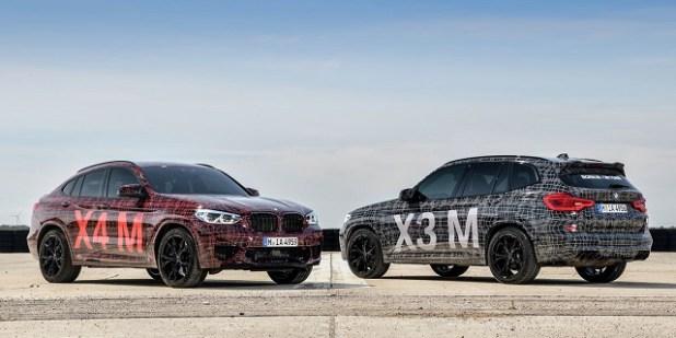 2020 BMW X4 spy pics