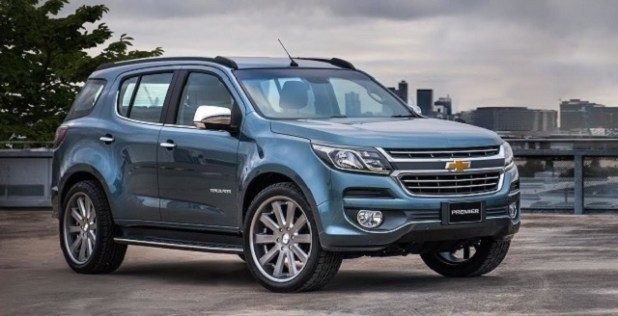 2020 Chevrolet Trailblazer front view