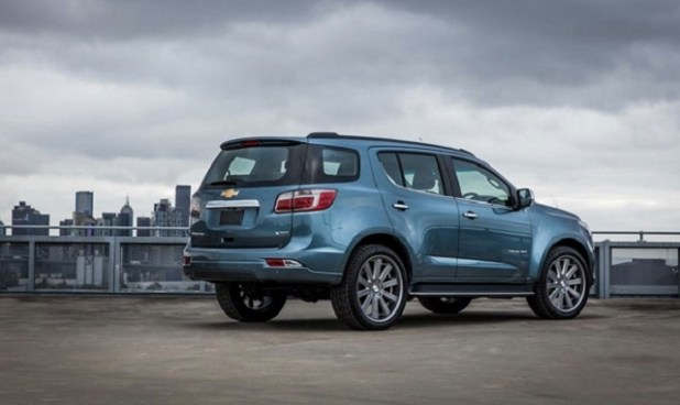 2020 Chevrolet Trailblazer rear view