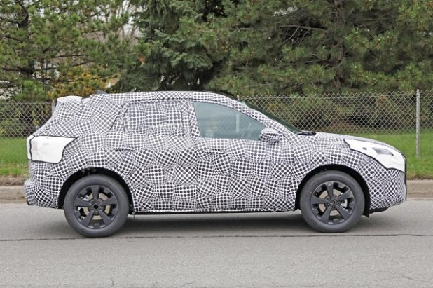 2020 Ford Kuga spy shots