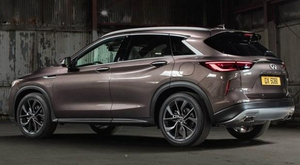2020 Infiniti QX50 rear view