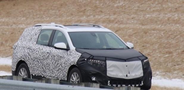 2020 Chevy Equinox spy shots