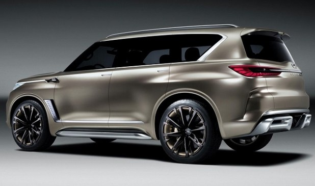 2020 Infiniti QX80 rear view
