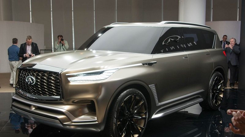 Grand Wagoneer 2018 >> 2020 Infiniti QX80 Monograph, Redesign - 2019 and 2020 New ...