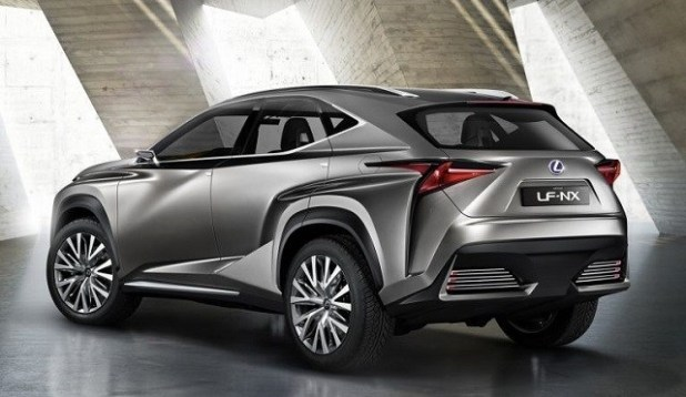 2020 Lexus NX300 rear view